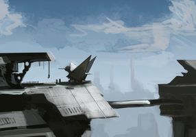 Skyport by thebestwes