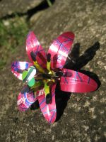 Soda Can Hair Clip - Pink by Christine-Eige
