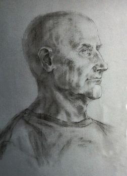 portrait of elderly man by Ynik-name