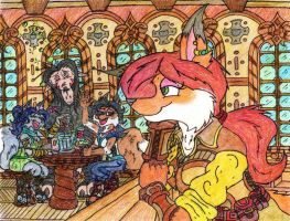 Commission: Tavern Bliss by JacobMace