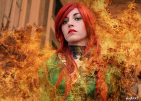 Burning by MaddMorgana