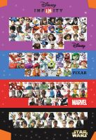 Disney Infinity 3.0 Character checklist Version 2 by darkmudkip6