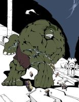 Hulk Smash by Dr-Bee