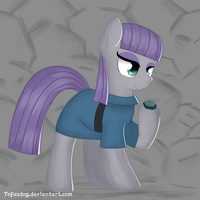 Maud Pie by tofuudog