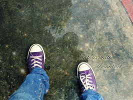 Stars under my shoes. by kathyxsmile