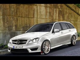 Mercedes-Benz-C-Class 2012 AMG by EDLdesign