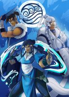 The Last Airbender - Water by JocelynAda