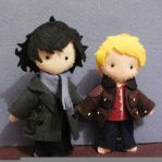 BBC Sherlock and John by melrosestormhaven