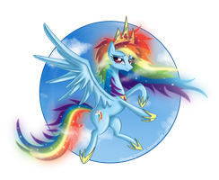 Princess Rainbow Dash - II by Jrenon