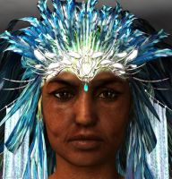 Queen of the Sea: A portrait from a WIP series. by Shango-ThunderStones