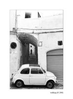 """Cinquecento"" times Goodbye by wallking"
