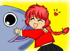 Hikaru and The Fish by Miciap