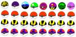 32 Pok'eball Adopts :CLOSED: by Shade-Hero-Project-X
