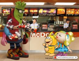 McDonald's Online Delivery 2 by jaytablante