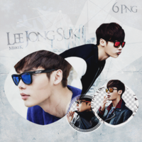 Lee Jong Suk PNG pack by KorecanMelike