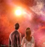 The Doctor and Donna by elyJHardy