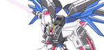 sprite Freedom Gundam by BlackShot96XD