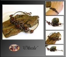 Oliseda- wire wrapped bracelet by mea00