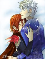 Jack Frost and Red Dragon by HACKproductions