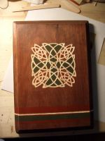 Celtic Knot Plaque by Haunted-Mind