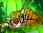 Tiger by MittensTheNoble