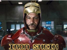 Iron Sheik is Iron Man by Sen-goku