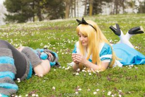 Alice in Wonderland Cosplay by MAJCosplay