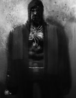 The Hooded Man by feeesh