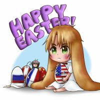 [APH] Easter! :D by Jeroine
