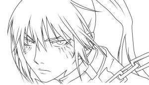 Kanda Lineart by D-Aare