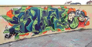 Sanz one-Oldschool Wildstyle 2 by SANS-01-2-MHC-BS