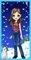 Winter 2010 Me ID by RavynLaRue