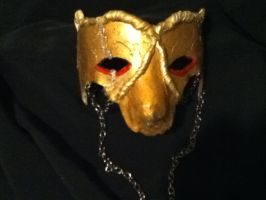 Gold mask by karrish