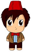 Chibi doctor who by doggoneloverr
