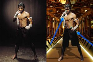 Tony Jaa by MaverikKnight