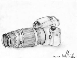 Sony Alpha 37 by IsabelLaGrenouille