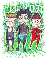 Green day mania by dragon-flies