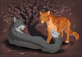 Cats by LowerSun