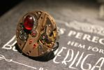 Steampunk ring by 96kotten
