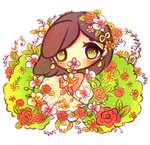 Orchids and Roses by mochatchi