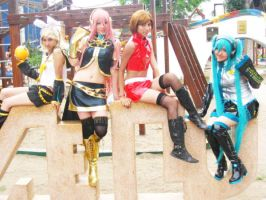 The Vocaloid Girls x3 by cosplayluvx3
