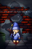 Do you want to play with me? by Merum-SB-BlueOlimar