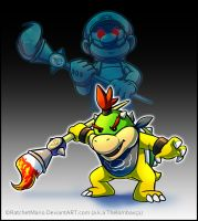 Bowser Jr. by RatchetMario