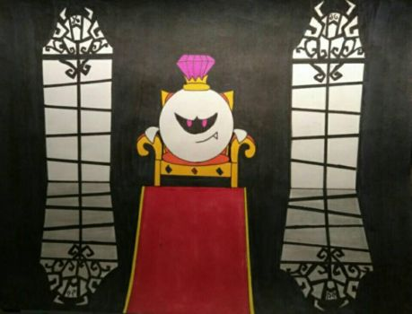 King Boo's Throne Room by Blueghost136