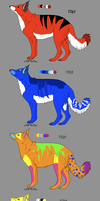 scene dog pointables skadmlaks by freaking-adopts