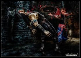 Kung Lao Cosplay to Romics 2011 by Luca Esposito by LeonChiroCosplayArt