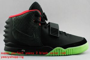 Kanye West Airyeezy2 Black Solar red 11 by zinima