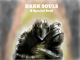 Dark Souls comic, A special soul cover/wallpaper by TheSpiderAdventurer