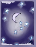 Blue stars and Blue moon-Creating to identify by HoshiBlue21