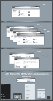 Comporal Theme Win10 Anniversary Update1 by Cleodesktop